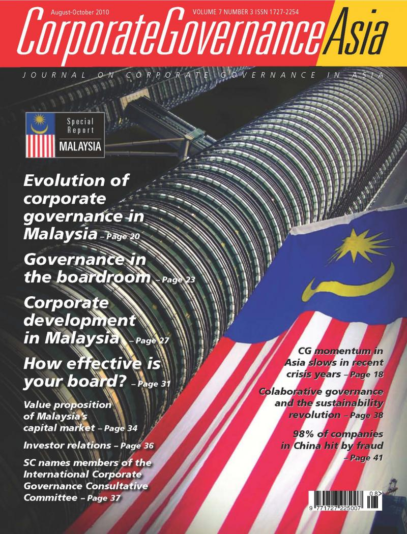 corporate governance in malaysia us What is corporate governance  is to enhance the corporate governance in malaysia flourishes and investor confident about companies in malaysia (beasley, 2008 .